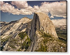 Acrylic Print featuring the photograph Yosemite Half Dome by Janis Knight