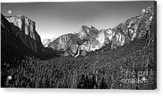 Yosemite Inspiration Point Acrylic Print