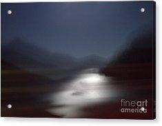 Yosemite Moonlight Acrylic Print by Tonja Gabryshak Howard