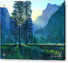 Yosemite Morning  Acrylic Print