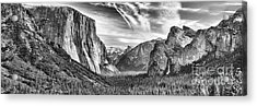 Yosemite Panoramic Acrylic Print