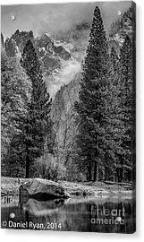 Yosemite Storm Acrylic Print