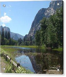 Yosemite Valley Acrylic Print by Catherine DeHart