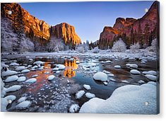 Yosemite Valley Acrylic Print by Lincoln Harrison