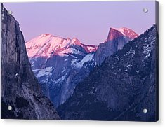 Yosemite Valley Panorama Acrylic Print