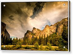 Acrylic Print featuring the photograph Yosemite Valley Spring 2013 by Janis Knight