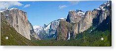 Yosemite Valley Visualized Acrylic Print by Gregory Scott