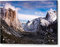 Yosemite Tunnel View Acrylic Print