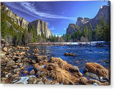 Acrylic Print featuring the photograph Yosemite's Valley View by Mike Lee