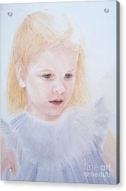 Acrylic Print featuring the painting You Are Special by Mary Lynne Powers