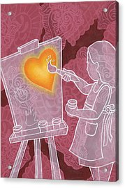 You Have Creativity Acrylic Print