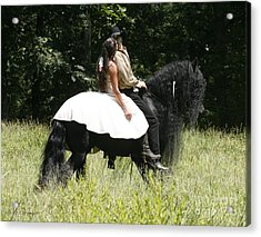 Acrylic Print featuring the photograph You May Kiss The Bride by Carol Lynn Coronios