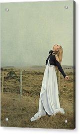You Raise Me Up Acrylic Print by Evelina Kremsdorf