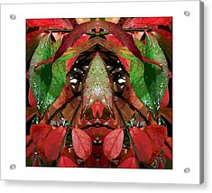 You Title It.  Depends On What  You See. Acrylic Print