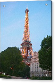 Acrylic Print featuring the photograph You Took My Breath Away by Kjirsten Collier