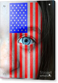 Young American - Slave Or Free? Acrylic Print