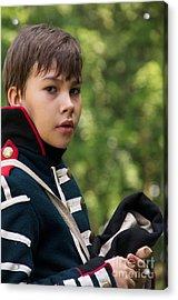 Young Artilleryman Acrylic Print by Aleksey Tugolukov