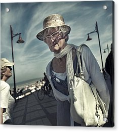 Young At Heart Acrylic Print by Michel Verhoef
