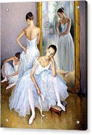 Young Ballerinas Acrylic Print