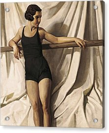 Young Bather. 1st Half 20th C. Artists Acrylic Print by Everett