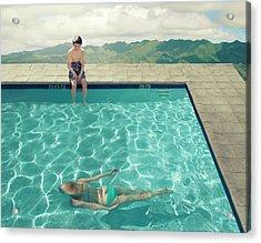 Young Boy Acrylic Print by Fang Tong