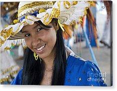 Beautiful Women Of Brazil 3 Acrylic Print