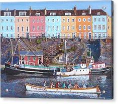 Young Bristol Acrylic Print by Tomas OMaoldomhnaigh