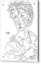 Young Christ Acrylic Print