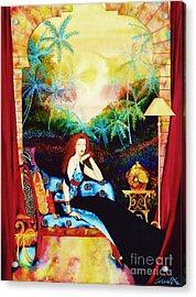 Young Debutante Acrylic Print