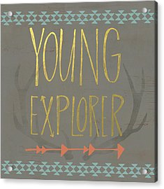 Young Explorer Acrylic Print by Katie Doucette