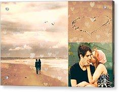 Young Love Acrylic Print