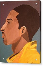 Young Mamba Acrylic Print by Brandon King