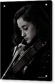 Young Musicians Impression #29 Acrylic Print