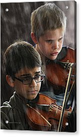 Young Musicians Impression #45 Acrylic Print