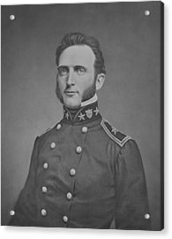 Young Stonewall Jackson  Acrylic Print by War Is Hell Store