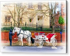 Your Carriage Awaits Acrylic Print