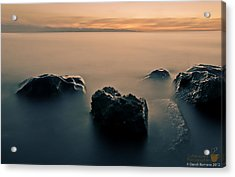 Your Life Is An Island Acrylic Print by Mario Dandi Romano