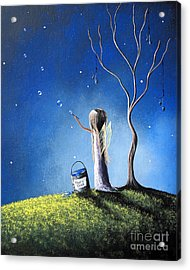 Your Wish Comes True Tonight By Shawna Erback Acrylic Print by Shawna Erback