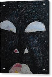 You're Standing In My Eye Acrylic Print by Nancy Mauerman