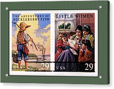 Youth Classics Stamps Acrylic Print