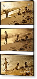 Youth Tryptich Acrylic Print