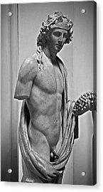Youthful Dionysus Acrylic Print
