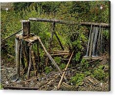 Yubeng Water Works Acrylic Print by James Wheeler