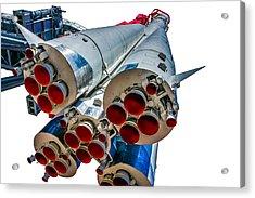 Yuri Gagarin's Spacecraft Vostok-1 - 5 Acrylic Print by Alexander Senin