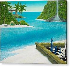 Yvan's Paradise Acrylic Print