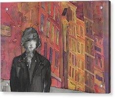 Z And The City 2 Acrylic Print by Carolyn Doe