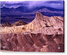 Zabriskie Point Death Valley National Park Acrylic Print