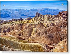 Zabriskie Point Acrylic Print by Mimi Ditchie