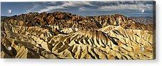Zabriskie Point Panorama Acrylic Print