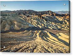 Zabriskie Point Spectacular Mountains  Acrylic Print by Pierre Leclerc Photography